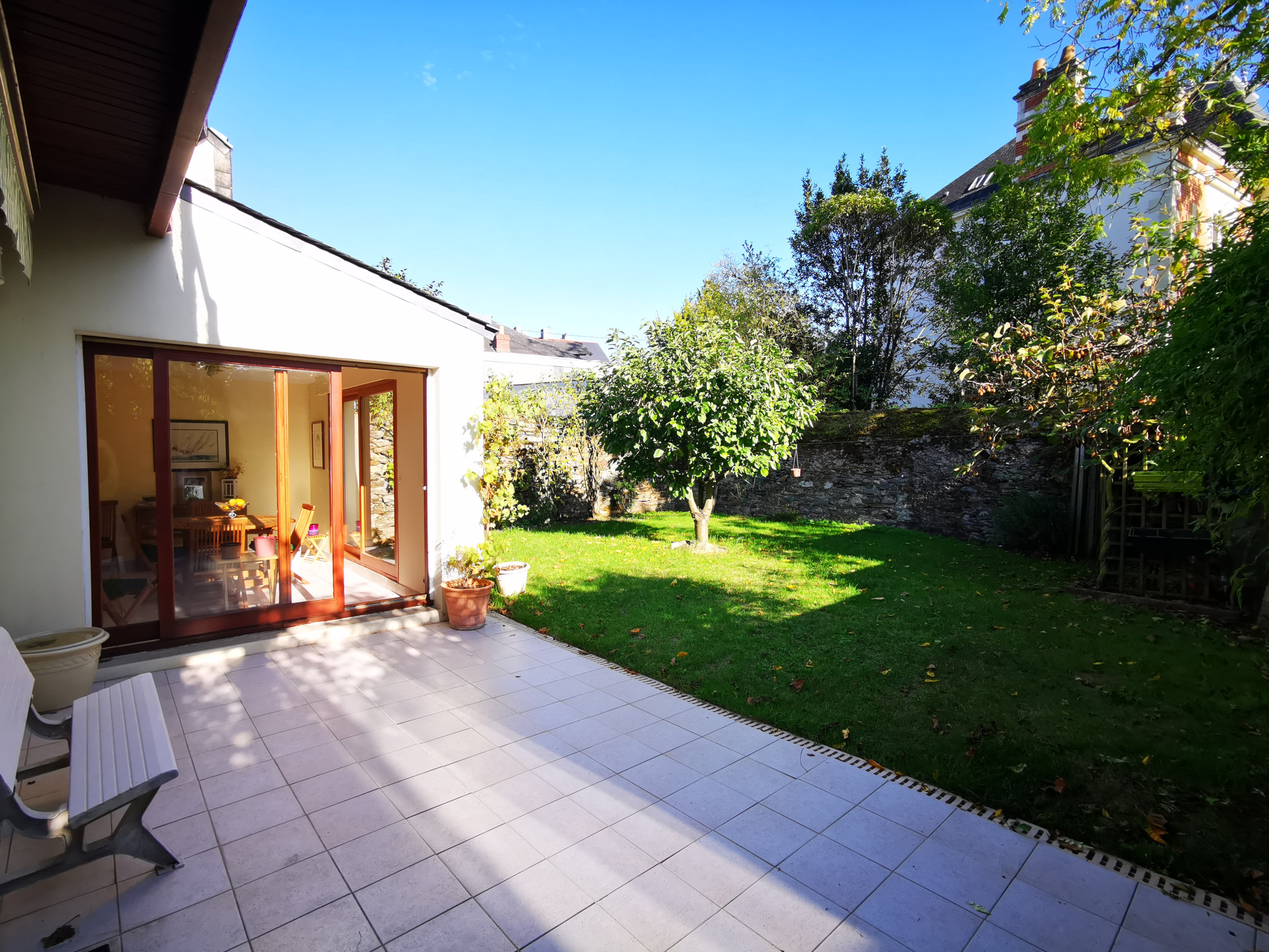 Nantes Americains Maison De Ville 216 M Au Sol Env 185 M2 Habitable Garage Jardin Veranda Balcon